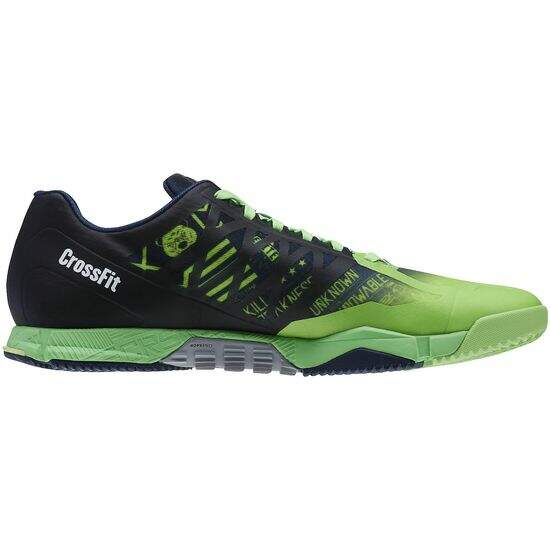 Tênis Reebok CrossFit Speed Masculino - Solar Green/Collegiate Navy/Luminous Lime