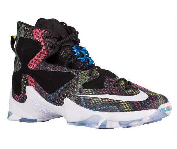 Tênis Nike LeBron XIII Masculino - Multi Color/White/Black