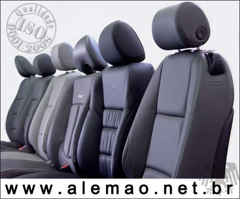 Kit Bancos em Couro - Ford F-250 F250 Cabine Simples - 100% Couro