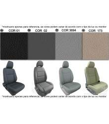 Kit Bancos em Couro - AUDI A3 2001 a 2010 c/ AirBag Lateral - 100% Couro