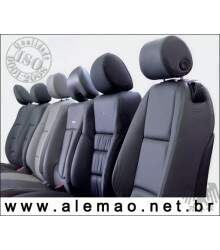 Kit Bancos em Couro - Nissan MARCH - 100% couro