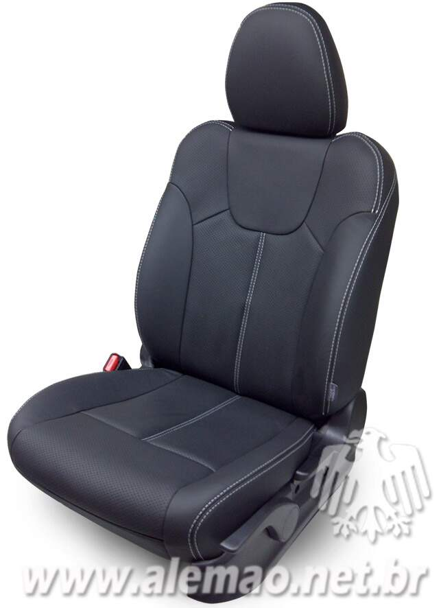 Kit revestimento - Volvo S60 - c/ Airbag Lateral - 100% Couro