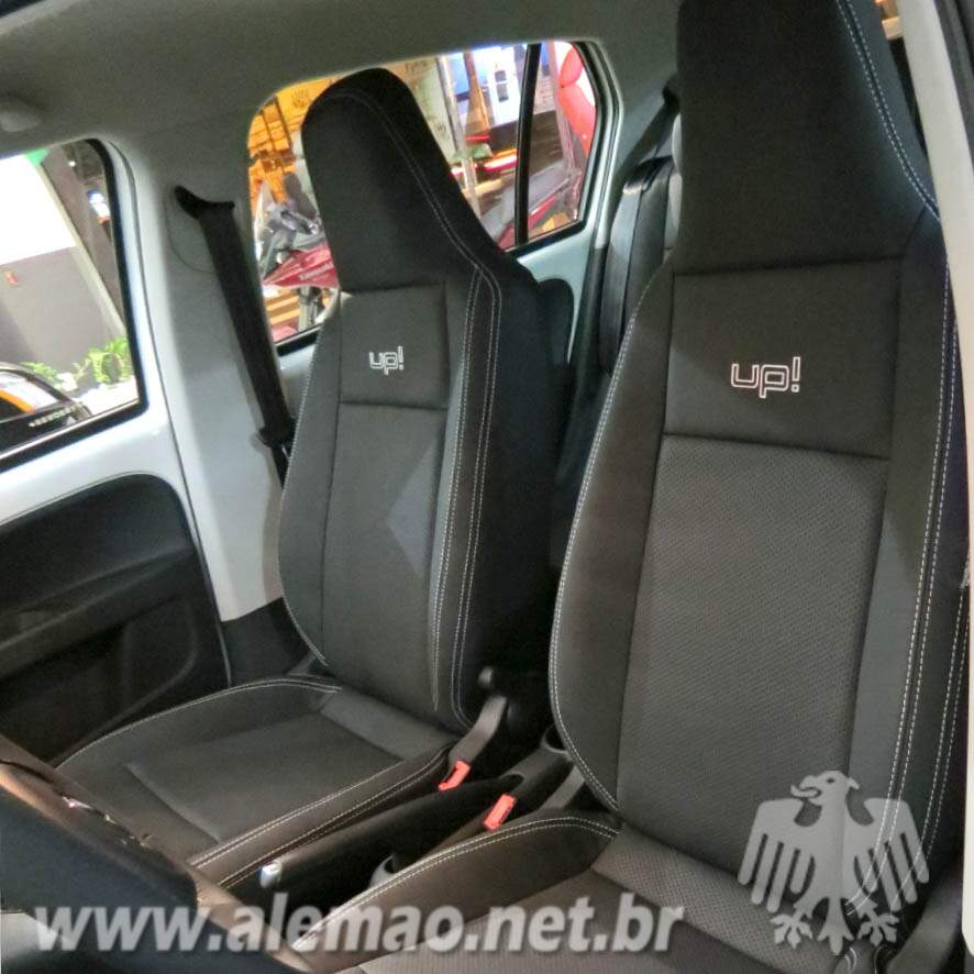 Kit Bancos em Couro - VW UP! - VWUP - 100% Couro