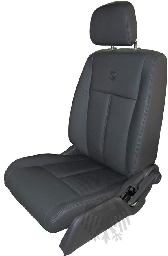 Kit Bancos em Couro - DODGE JOURNEY 7 lugares - c/ AirBag Lateral - 100% Couro