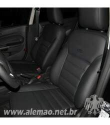 Kit Bancos em Couro - Ford NEW FIESTA - 100% Couro