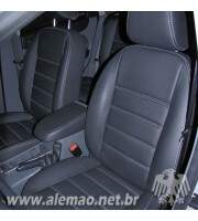 Kit Bancos em Couro - Ford FOCUS Hatch - Misto 70% Couro