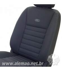 Kit Bancos em Couro - Ford RANGER Cabine Simples - 100% Couro