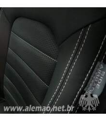Kit Bancos em Couro - VW GOLF 2015 Confortline - AirBag Lateral - 100% Couro