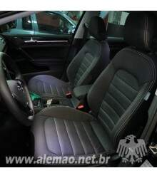 Kit Bancos em Couro - VW GOLF 2015 TSi GTi - AirBag Lateral - 100% Couro