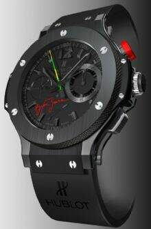 Replicas de Relogio Hublot Big Band Black Ceramic