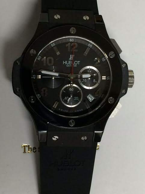 Replicas de Relogios Hublot Big Bang Strass Black - (237)