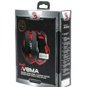 Mouse A4Tech Bloody V8MA 3.200 DPI (Ultra Core 3 Ativado)