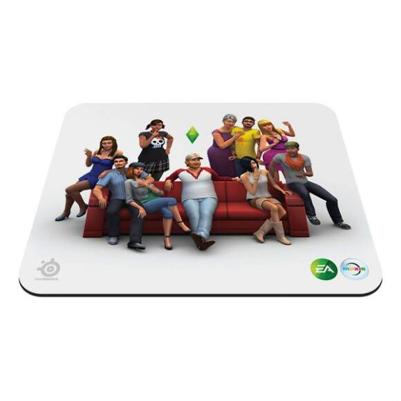 # ESPECIAL NATAL # MousePad SteelSeries QcK The Sims 4