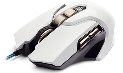 Mouse Gamer Dazz Boreal Tiger 3500 DPI Branco 622477