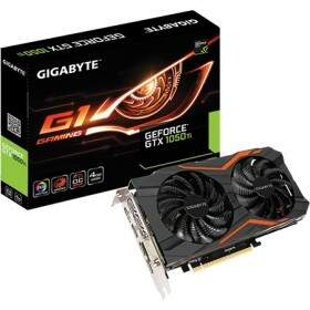 Placa de Vídeo VGA Gigabyte GTX 1050 Ti G1 Gaming 4GB DDR5 128Bits GV-N105TG1GAMING-4GD