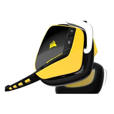 # ESPECIAL NATAL # Fone Corsair Gaming Void Wireless RGB Dolby 7.1 Yellowjacket Limited Edition - CA-9011132-NA