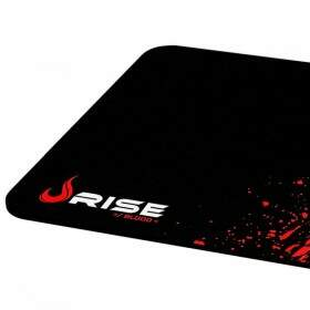 # PROMOÇÃO # MousePad Rise Gaming Blood Grande Bordas Costuradas - RG-MP-02-BD