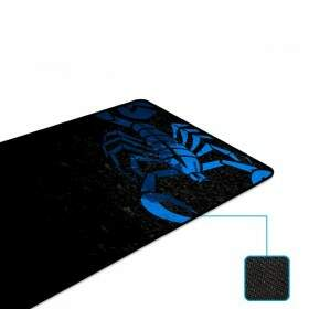 # BLACK NOVEMBER # MousePad Rise Gaming Scorpion Extended Bordas Costuradas - RG-MP-06-SK
