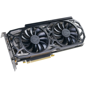 Placa de Vídeo VGA EVGA GeForce GTX 1080 TI Black Edition 11G - 11G-P4-6391-KR