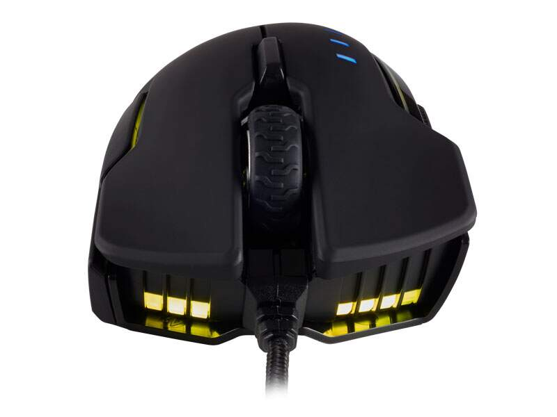 Mouse Corsair Gaming Glaive RGB Optico 16000dpi Preto - CH-9302011-NA