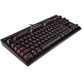 # ESPECIAL NATAL # Teclado Corsair Gaming K63 Compact Cherry Red ABNT2 - CH-9115020-BR