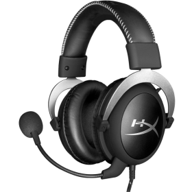 Fone Kingston HyperX Cloud Silver - HX-HSCL-SR/NA