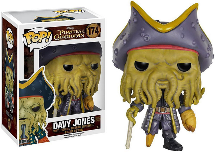 Boneco Funko Pop - Pirates Of Caribean - Davy Jones - 174