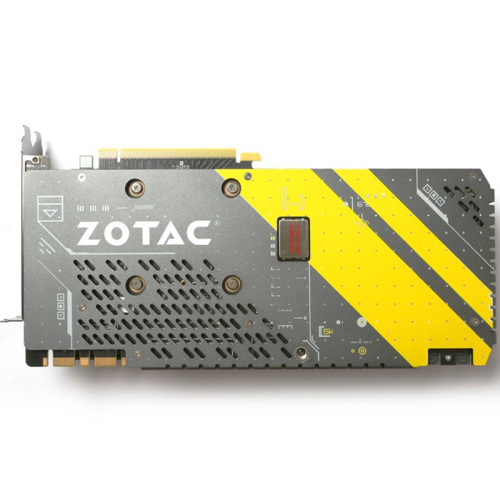 Placa de Vídeo VGA Zotac GEFORCE GTX 1080 AMP! Edition 8GB GDDR5X 256BITS - ZT-P10800C-10P