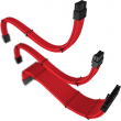Cabo Sleeved Rise Mode Kit Com 3 Cabos Full Red RM-SL-01-FR