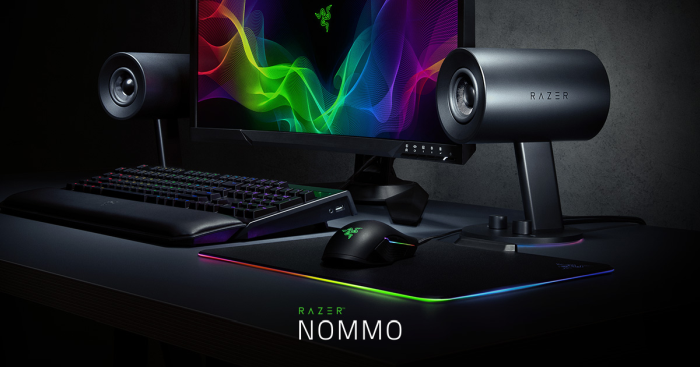 Caixa de Som Razer Nommo Chroma 2.0 Gaming Speakers