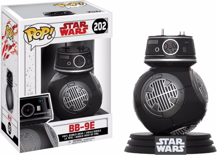 Boneco Funko Pop - Star Wars - BB-9E - 202