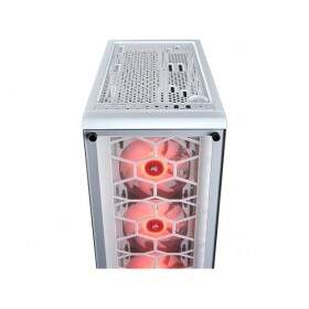Gabinete Corsair Gamer Crystal Series 460X White RGB Vidro Temperado ATX CC-9011129-WW