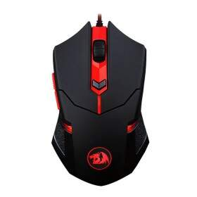 Kit Mouse Gamer Redragon CENTROPHORUS c/ MousePad M601-BA