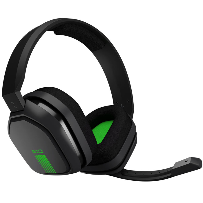 Fone Gamer Astro A10 Headset Green Edition - PC, PS4, XBOX ONE, MAC, SWITCH