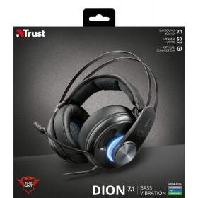 Fone Trust Gamer GXT 383 Dion 7.1 Gaming - Ps4 / Xbox One / Pc