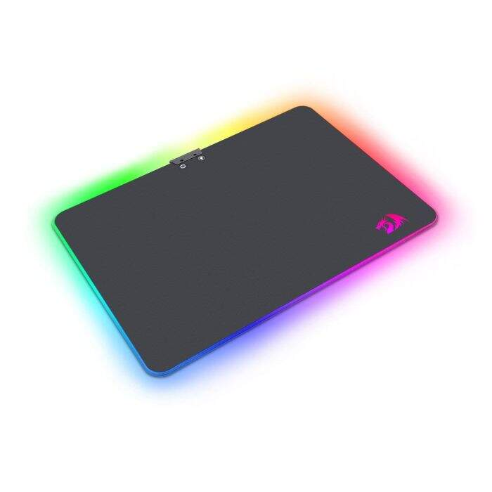MousePad Gamer Redragon Aurora RGB P010 350x250mm