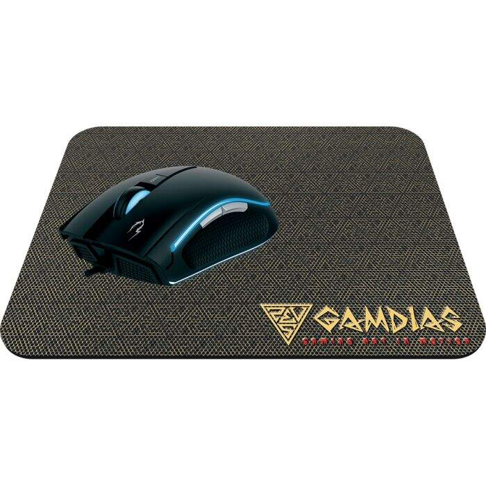 Kit Mouse Gamer Gamdias Zeus E1A c/ MousePad Nyx E1 3200dpi