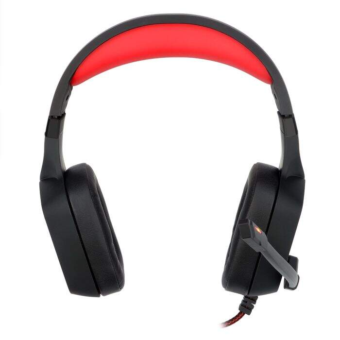 Fone Gamer Redragon Muses USB 7.1 Surround H310 Preto
