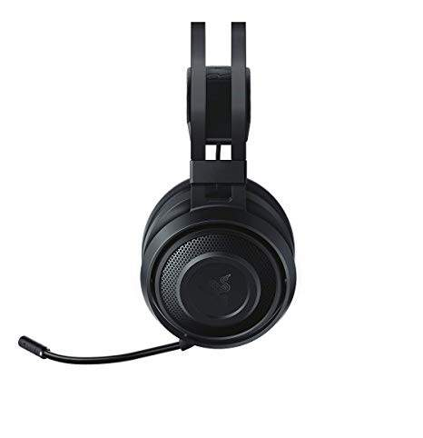 Fone Razer Nari Wireless THX Spatial Audio Gaming para PC e PS4