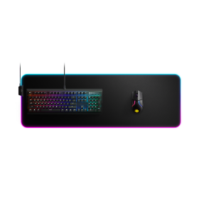 MousePad SteelSeries QcK Prism RGB Cloth Edition XL