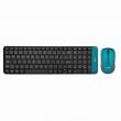 Kit Teclado e Mouse OEX Gaming Blend TM404 Verde Wireless