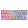Teclado Gamer Mecânico Motospeed K82 Rosa Switch Outemu Red c/ Led RGB - FMSTC0040VEM