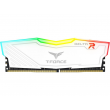 Memória Team T-Force Delta RGB Series 16GB 2666Mhz DDR4 CL15 White - TF4D416G2666HC15B01