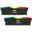 Memória Team T-Force Delta RGB Series 16GB (2 x 8GB) 2666Mhz DDR4 CL15 Black - TF3D416G2666HC15BDC01