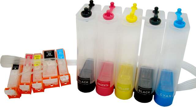 Bulk Ink com chip full para Impressora Canon IP 3600 / IP 4600 / IP 4700 / MP 620