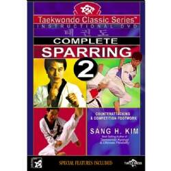 DVD Complete Sparring 2 - Contra-Ataques