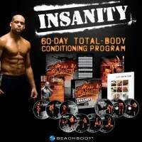 DVD Triplo- Insanity Ultimate Fitness