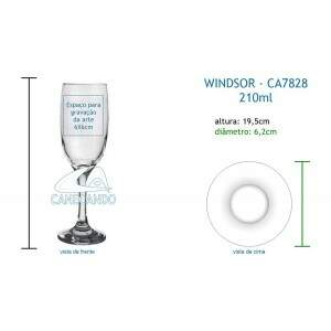 Taça Windsor 210ml - CA7828