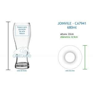 Copo Joinvile 680ml - CA7941
