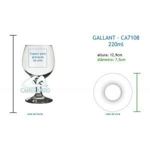 Taça Gallant 220ml - CA7108